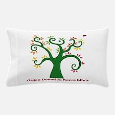 Organ Donation Tree Pillow Case