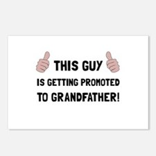 Promoted To Grandfather Postcards (Package of 8)