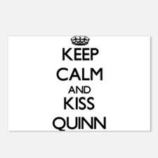 Keep Calm and Kiss Quinn Postcards (Package of 8)