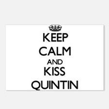Keep Calm and Kiss Quintin Postcards (Package of 8