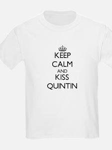 Keep Calm and Kiss Quintin T-Shirt