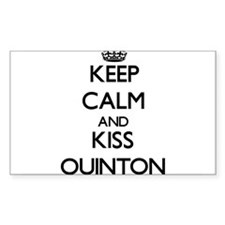 Keep Calm and Kiss Quinton Decal