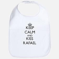 Keep Calm and Kiss Rafael Bib