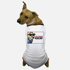 Caution Blind Dog Approach With Care Dog T-Shirt