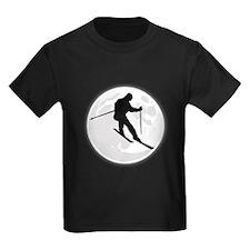 Skier Moon T-Shirt