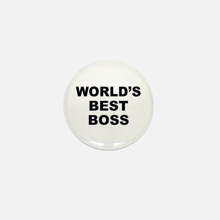 Worlds Best Boss Mini Button