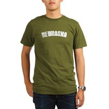 NebraskaWhite-01 T-Shirt