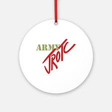 Army JROTC Ornament (Round)