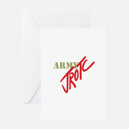 Army JROTC Greeting Cards