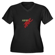 Army JROTC Plus Size T-Shirt