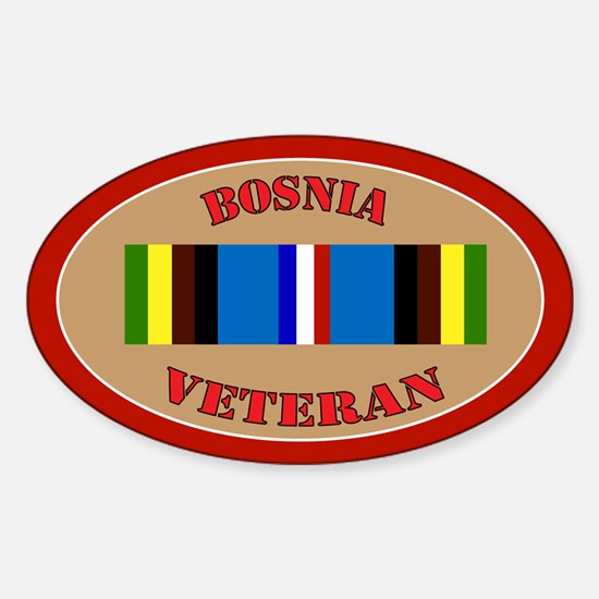bosnia-Expeditionary-oval Decal