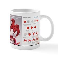horse origami Mugs