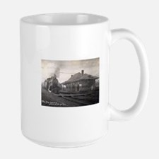 Historic train station in Deerfield, IL. Mugs