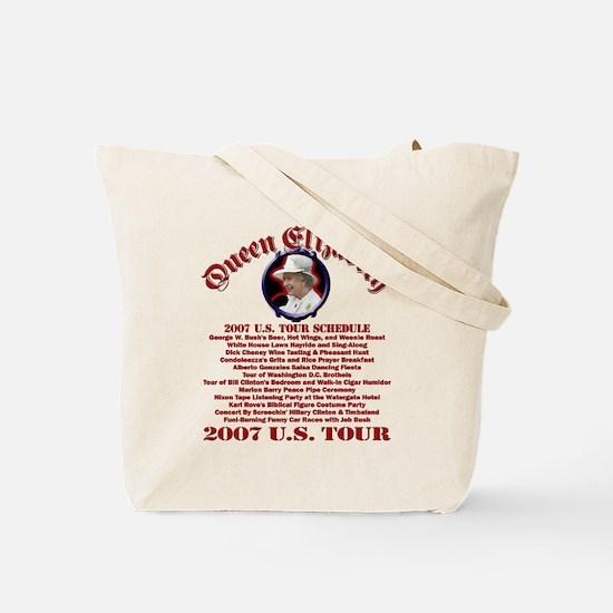Queen Elizabeth 2007 US Tour Tote Bag
