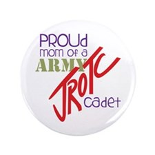 "Proud Mom 3.5"" Button (100 pack)"