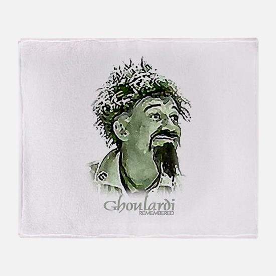 GhoulardiRemembered.jpg Throw Blanket