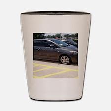 Minivan Shot Glass