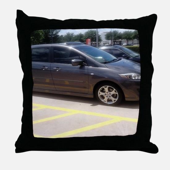 Minivan Throw Pillow