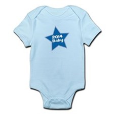 2014 Baby Blue Star Body Suit