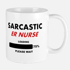 SARCASTIC ER NURSE LIGHTS Mugs