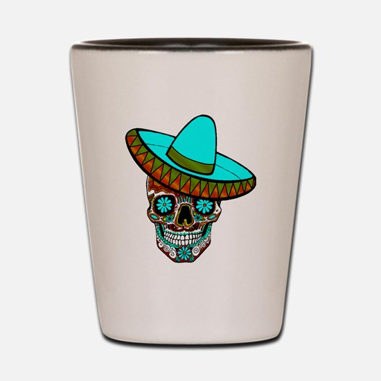 Funny Aztec Shot Glass