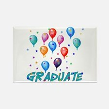 Graduation Balloons Rectangle Magnet