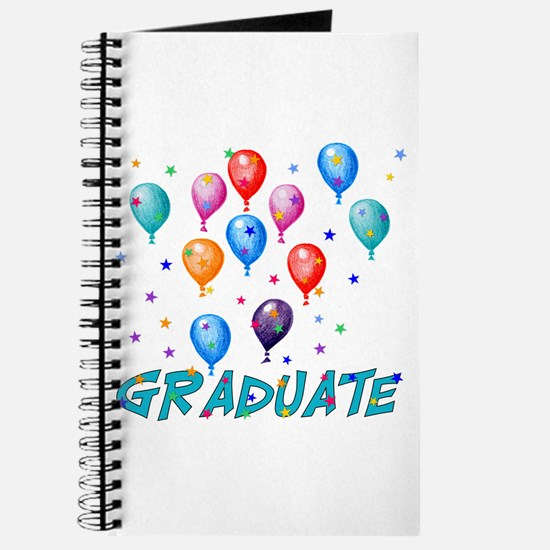 Graduation Balloons Journal