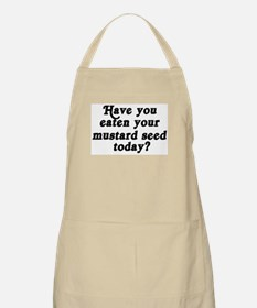 mustard seed today BBQ Apron