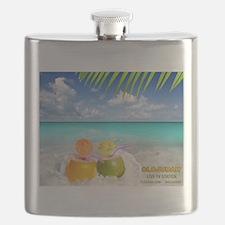 Summertime Beach Flask