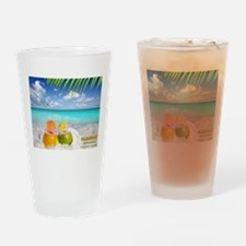 Summertime Beach Drinking Glass