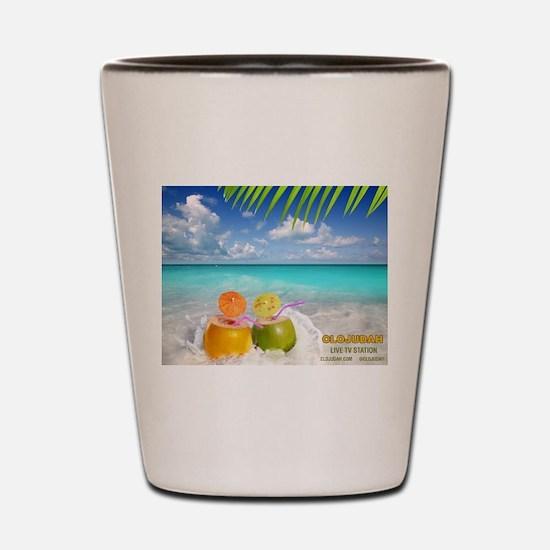 Summertime Beach Shot Glass