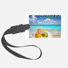 Summertime Beach Luggage Tag