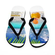 Summertime Beach Flip Flops
