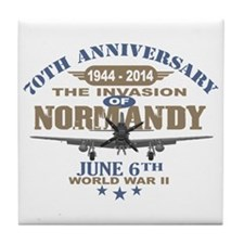 D-Day 70th Anniversary Battle of Normandy Tile Coa