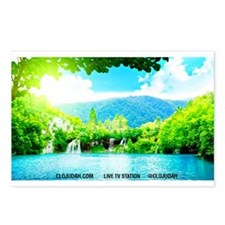 Waterfalls River Postcards (Package of 8)