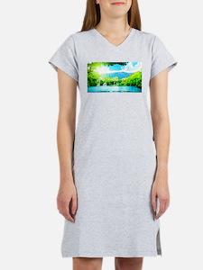 Waterfalls River Women's Nightshirt