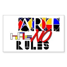 No Rules Decal