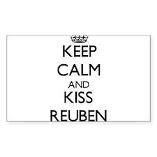 Keep Calm and Kiss Reuben Decal