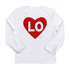 Lo (love) Heart Infant Long Sleeve T-Shirt