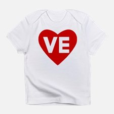 Ve (love) Heart Infant T-Shirt