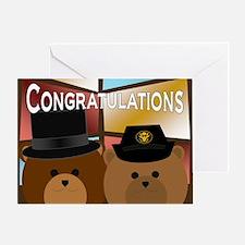 U. S. Army Enlisted Bride Groom Greeting Cards