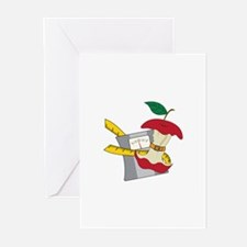 Fruit Diet Greeting Cards