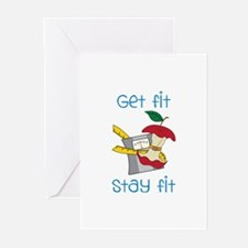 Get Fit Greeting Cards
