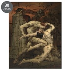 Dante And Virgil In Hell Puzzle