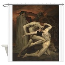 Dante And Virgil In Hell Shower Curtain