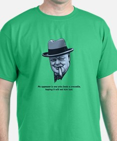 Churchill -Appeasers T-Shirt