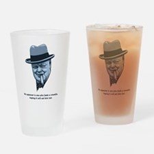 Churchill -Appeasers Drinking Glass