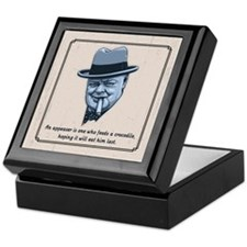 Churchill -Appeasers Keepsake Box