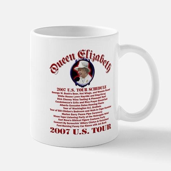 Queen Elizabeth 2007 US Tour Mug