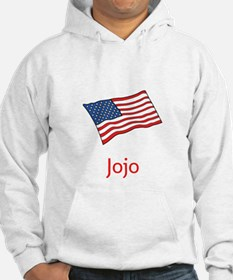 Old Glory Personalized July 4 Pop Hoodie